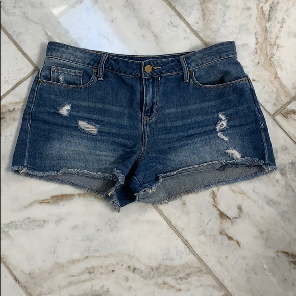 Calvin Klein Pants - Calvin Klein Cut Off Jean Shorts